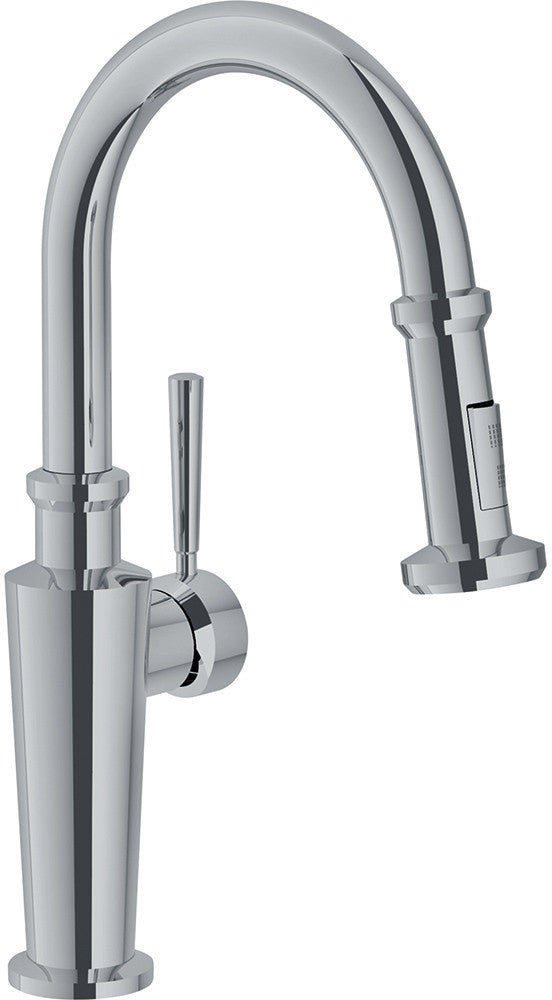 Franke FFP5270 Kitchen Faucet Absinthe Polished Nickel Pull Down NEW