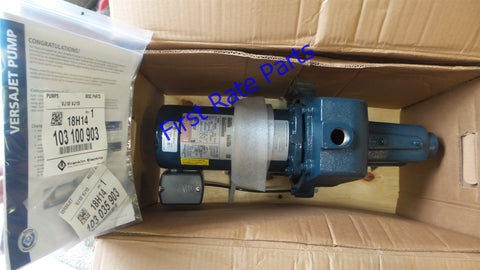 Franklin Electric FVJ15CI VersaJet Pump 91180015 1.5HP Jet Water Well
