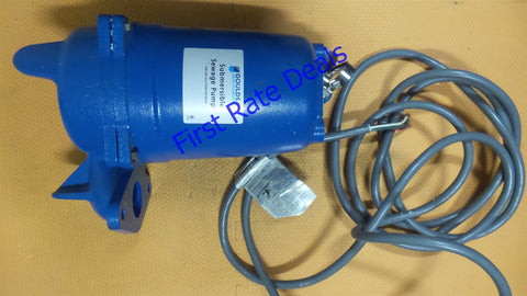 Goulds WS0532BF Submersible Sewage Pump 3887BF 1/2 HP 230V 3PH 160 GPM