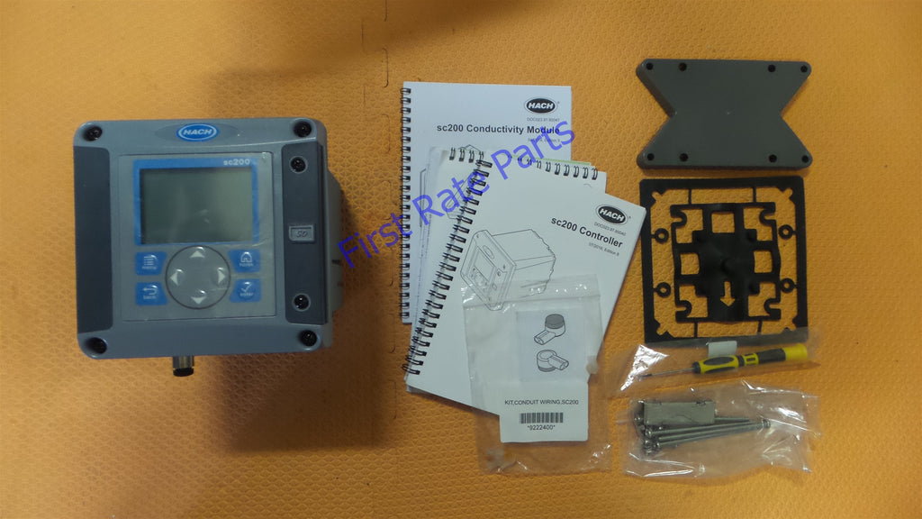 Hach LXV404.99.00522 Controller SC200 Digital Analog Turbidimeter
