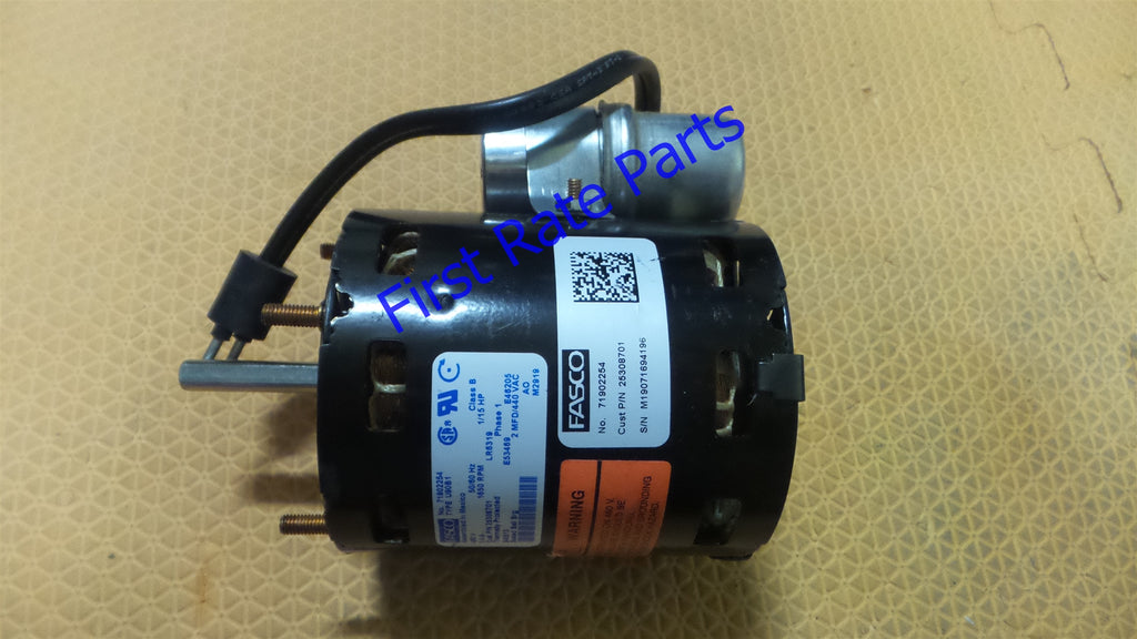 Heatcraft 25308701 Motor 25308701S Fasco 710902254 1/15 HP 460V Fridge