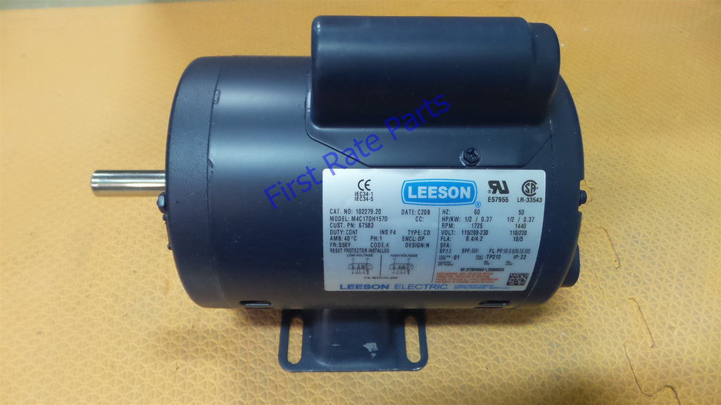 Henny Penny 67583 Fryer Filter Motor Leeson 102279.20 68-1253 HP67583
