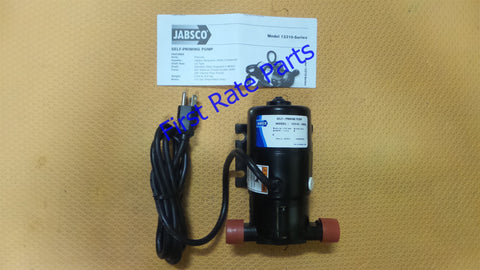 Jabsco 12310-0003 Flexible Impeller Pump Self-Priming 115V Boat Dock