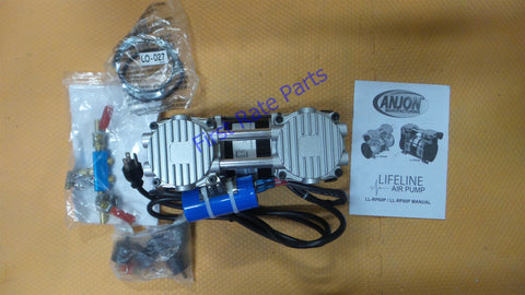 Lifeline LL-RP60P Rocking Piston Air Compressor Aerator Lake Pond 120V