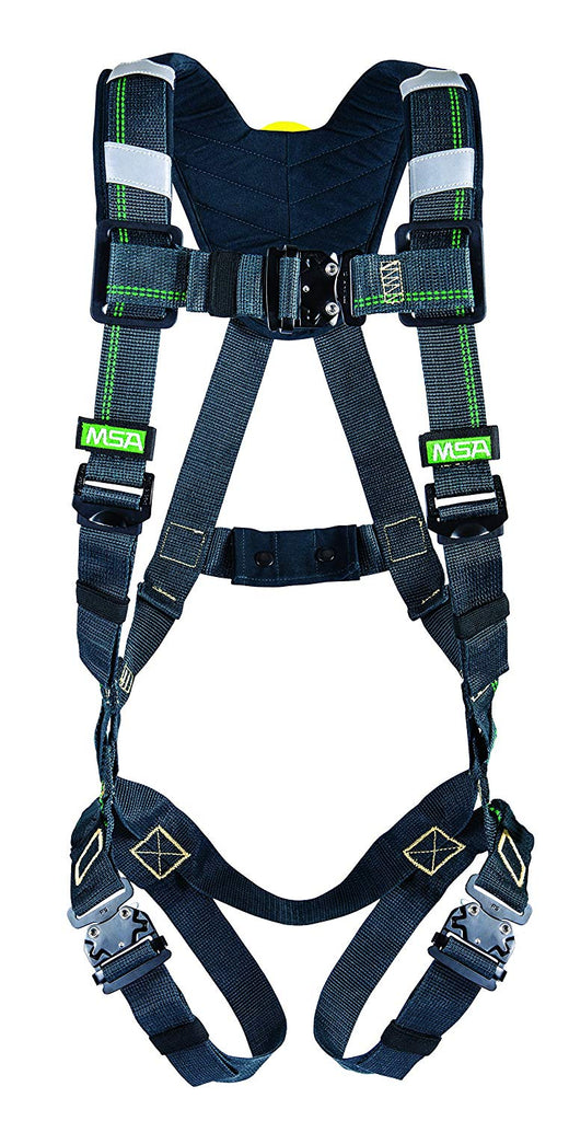 MSA 10150148 Evotech Arc Flash Harness Full-Body Safety Fall Kevlar