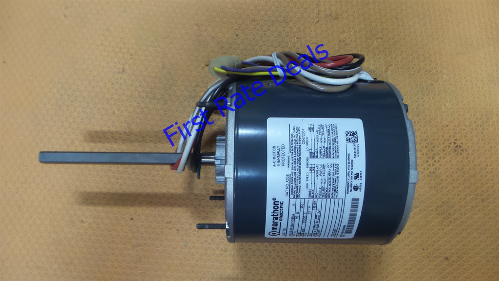 Marathon Motors X038 Fan Motor 48A11O1874 Blower 1/2HP 1075RPM 460V