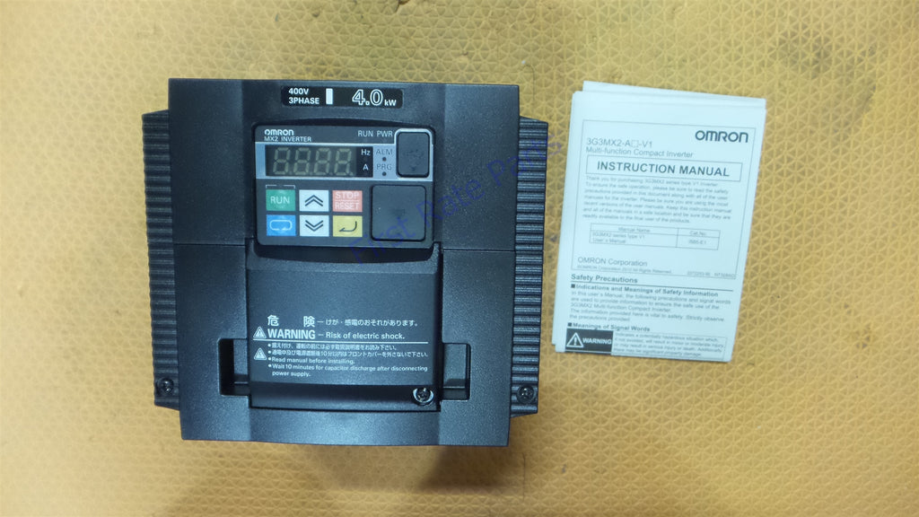 Omron 3G3MX2-A4040-V1 Inverter Variable Frequency Drive VFD MX2 Series