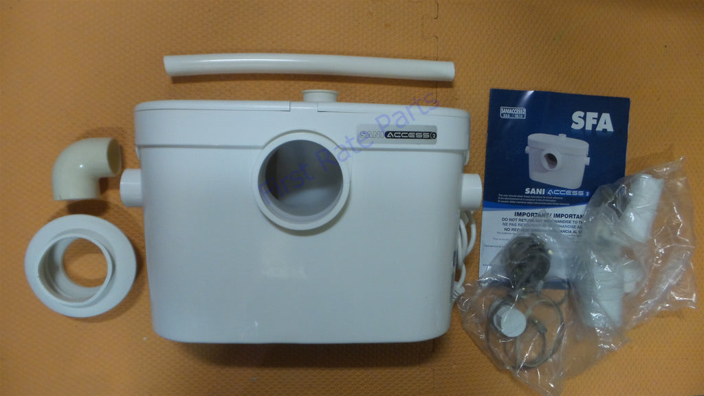 Saniflo 081 Saniaccess 2 Macerating Pump Saniaccess2 Toilet Outdoor