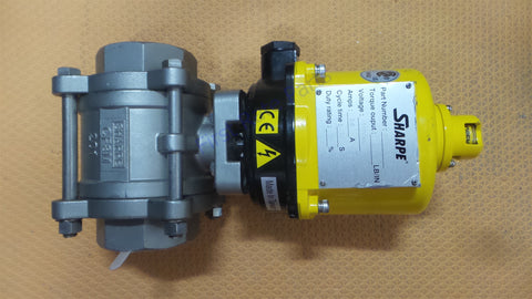 Sharpe SEA-3 Direct Mount Ball Valve Electric Actuator 2in Stainless 2