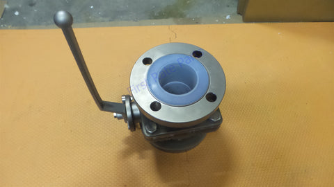 "Swissfluid 3"" Ball Valve Flanged Stainless Steel 150lbs U85 3in Swiss"