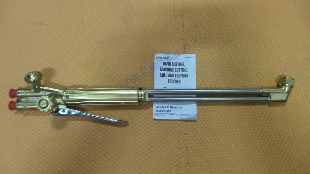 Victor 0381-1482 Straight Cutting Torch Oxygen Fuel ST2600FC 75° Deg