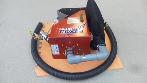Weld Engineering XP-3TRAC Flux Recovery System Lincoln LT-7 Tractor