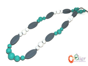 couleurs douces, collier de silicone, collier d'allaitement, collier de dentition