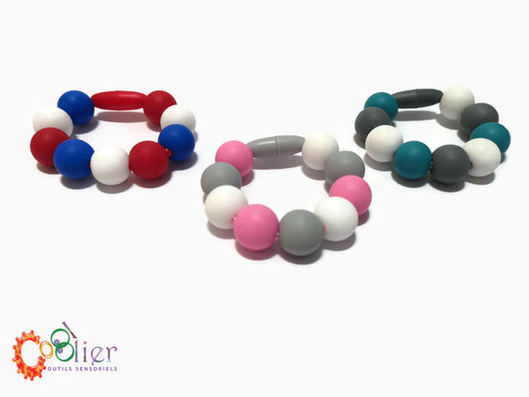 Bracelets à mâcher, chewy bracelet, collections 2018 et 2019
