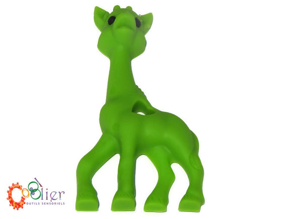 Girafe, jouet de dentition, teething toy giraffe