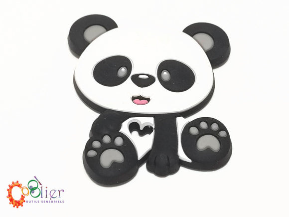 panda, jouet de dentition, teething toy panda