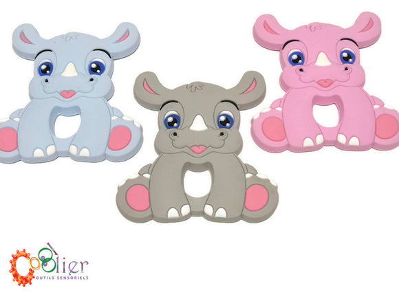 rino, jouet de dentition, teething toy
