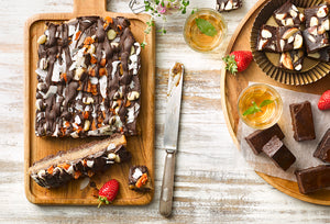 Recipe - Caramel Rocky Road