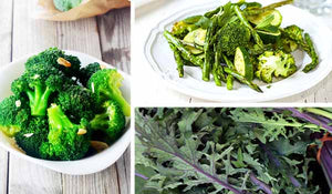 Green vegetables - 3 easy recipes
