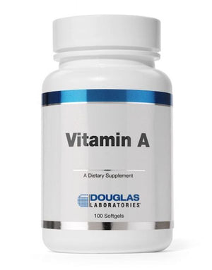 Douglas Laboratories Vitamin A 10,000 IU 100 caps
