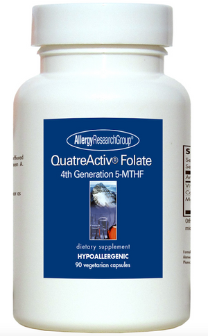 Allergy Research Group QuatreActiv Folate (500 mg) - 90 tabs
