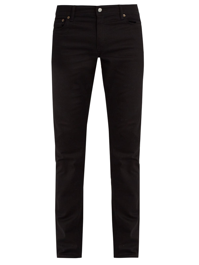 Acne Studios Men North Stay Black Jeans