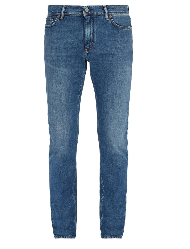 Acne Studios Men North Mid Blue Jeans