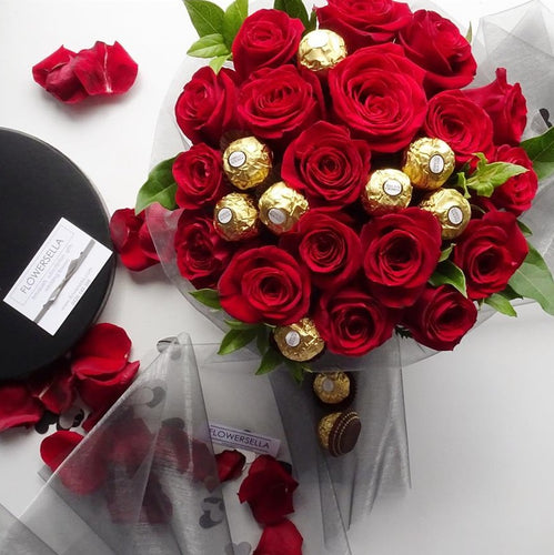 Ferrero Rocher flower box