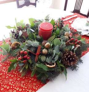 Tradition: Large Christmas Table Wreath