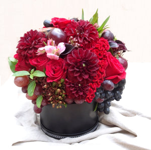 Fruits&Flowers black hat box