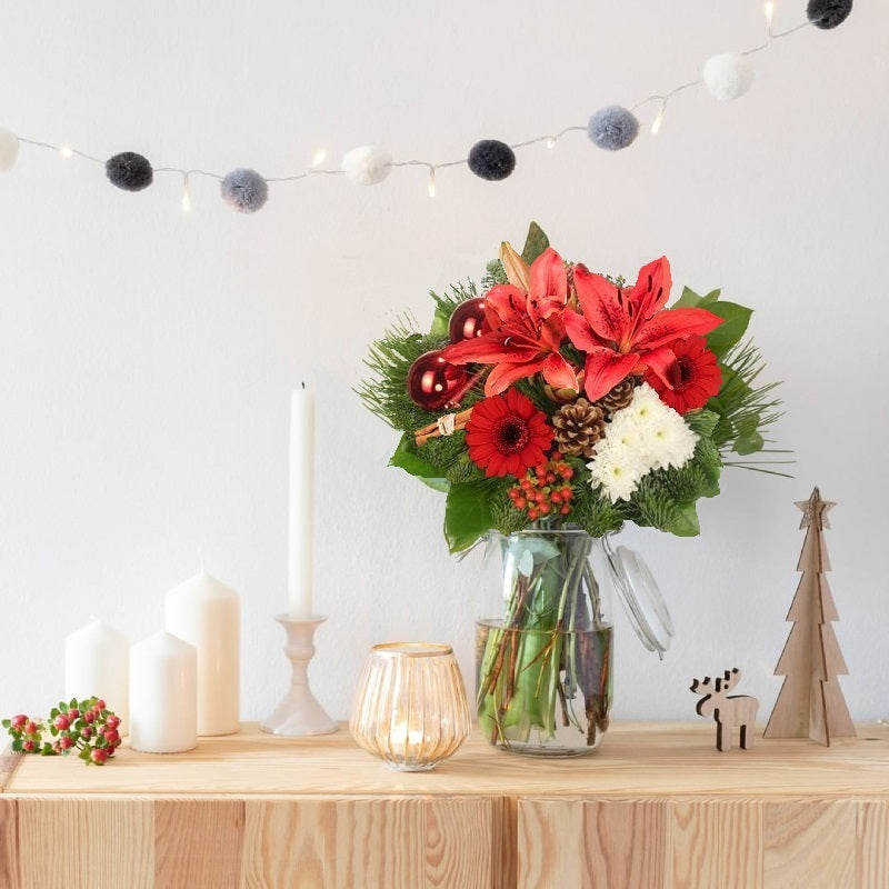 Surprise Party: Lilies and Cones