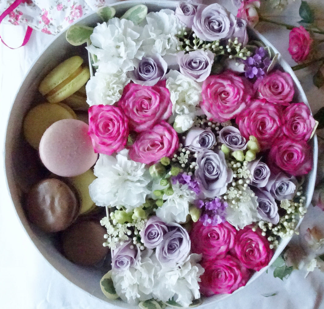 luxury flowers box