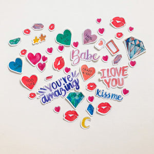 Scrap Love Stickers