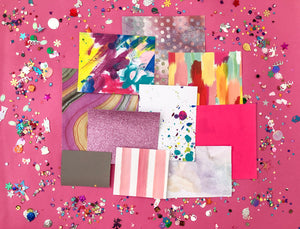 Scrapbook Kit Rainbow