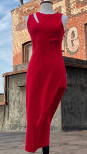 Delaney Dress/ Scarlet