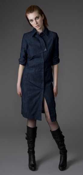 Organic Cotton Rebel Shirt Dress