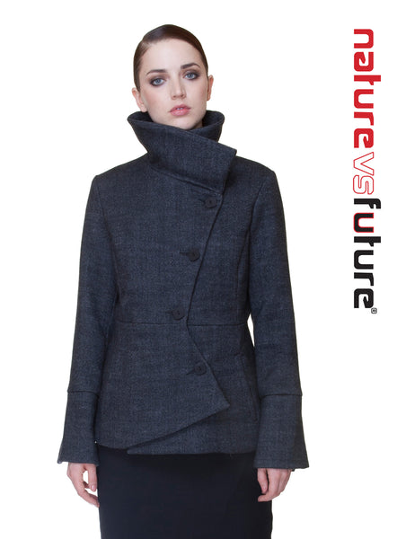 Short Swerve Coat