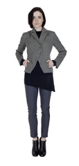 Pieced Seam Blazer