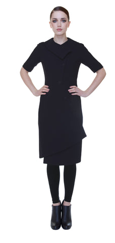 Swerve Dress  /  Black