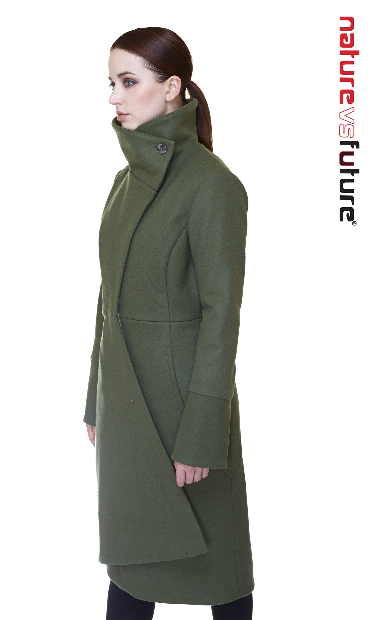 Swerve Thinsulate Quilted Maxi Coat / Grey