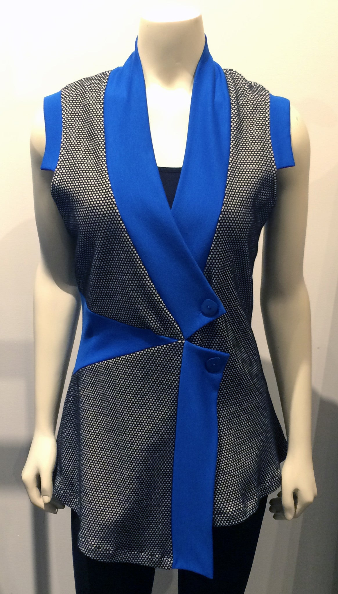 Pieced Vest/Tunic in Combos