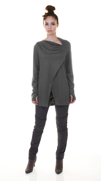 Sharkbite Tunic Top /Grey