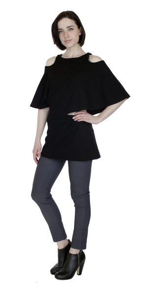 Runway Tunic Top/ Black