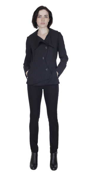 Swerve Long Sleeve Suit Blazer