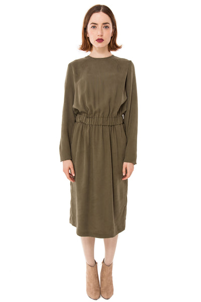 Jumper Dress / Sage