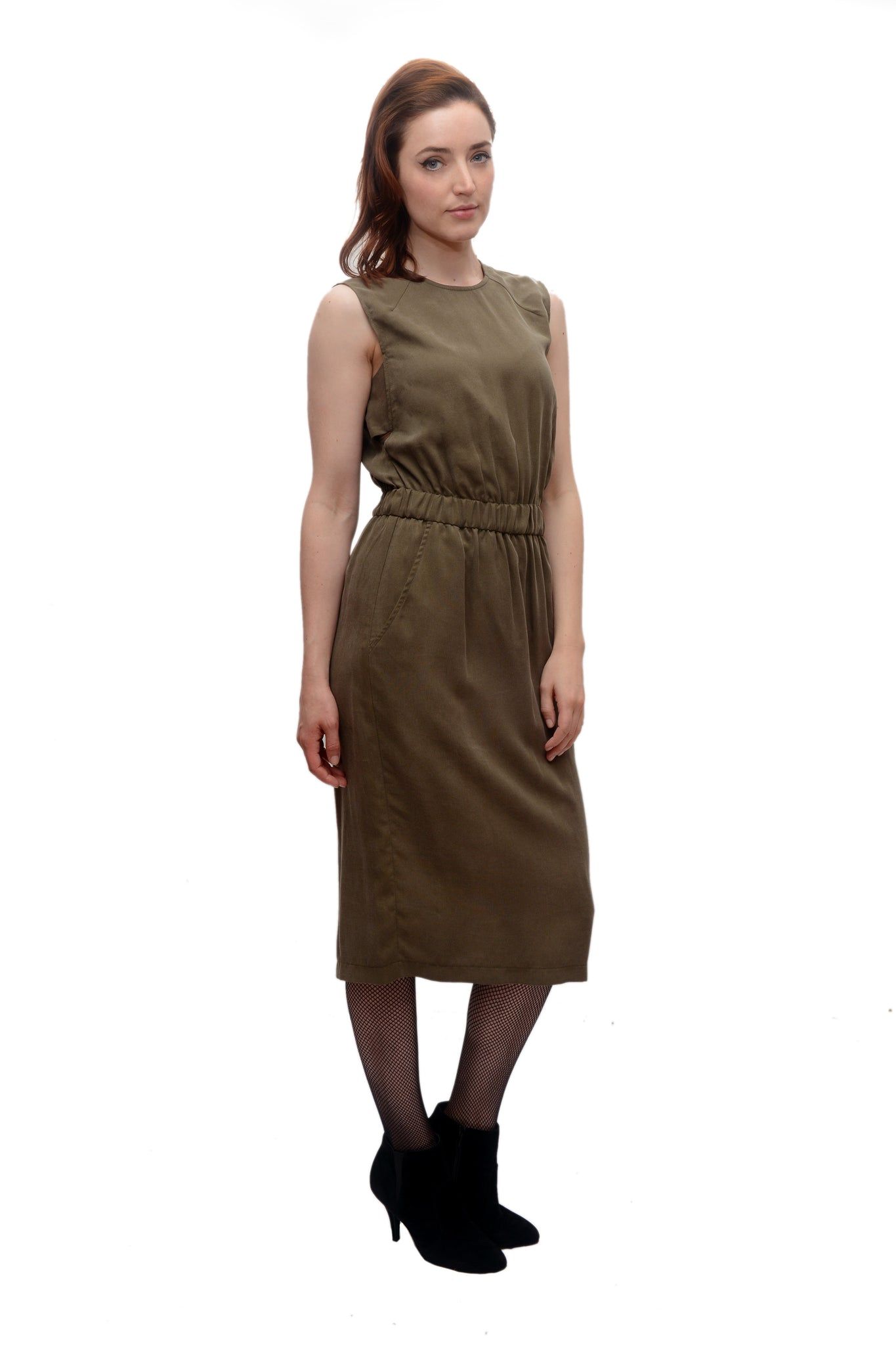 d40873c5d4 Sleeveless Jumper Dress   Taupe  Sale – naturevsfuture