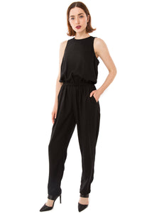 The  Essential Jumpsuit / Black