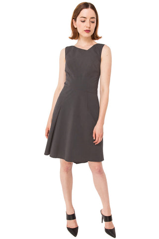 Dana Tank Dress/ Graphite