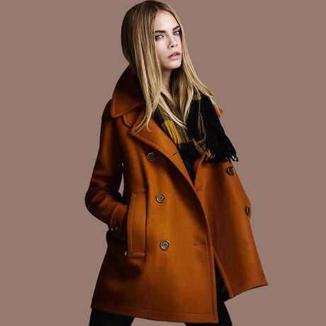 2018 Autumn and Winter New Style Women Fashion Coat