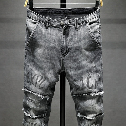 2018 Trendy Custom Men's Modish Fashion Jeans